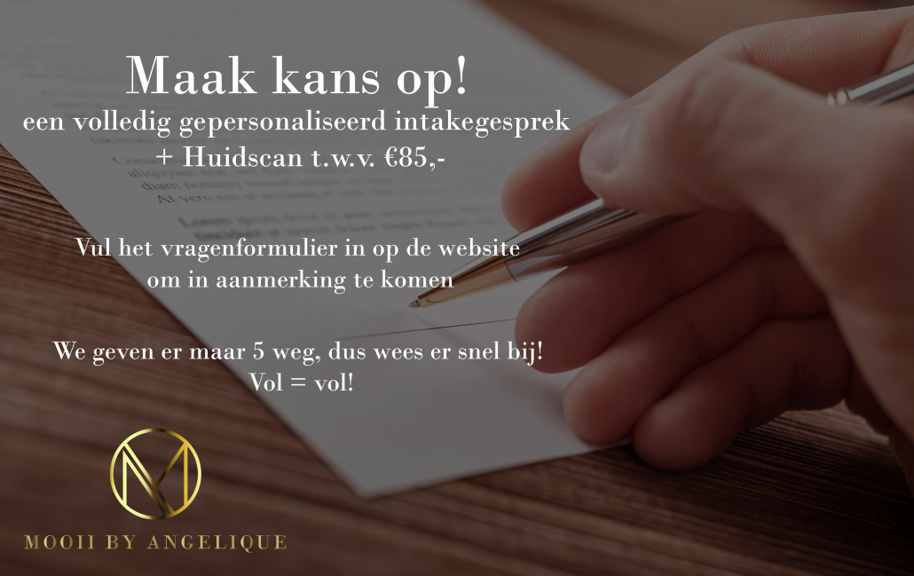 Intake Actie - Mooii by Angelique